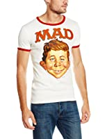 Logoshirt Mad-Alfred E. Neumann, Chemise Casual Homme