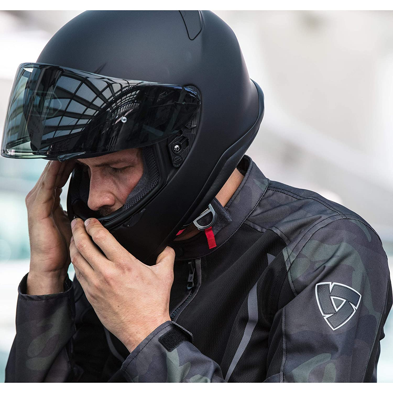 Ganzj/ährig Motorradjacke Torque Textiljacke Motorradschutzjacke Herren REVIT Tourer