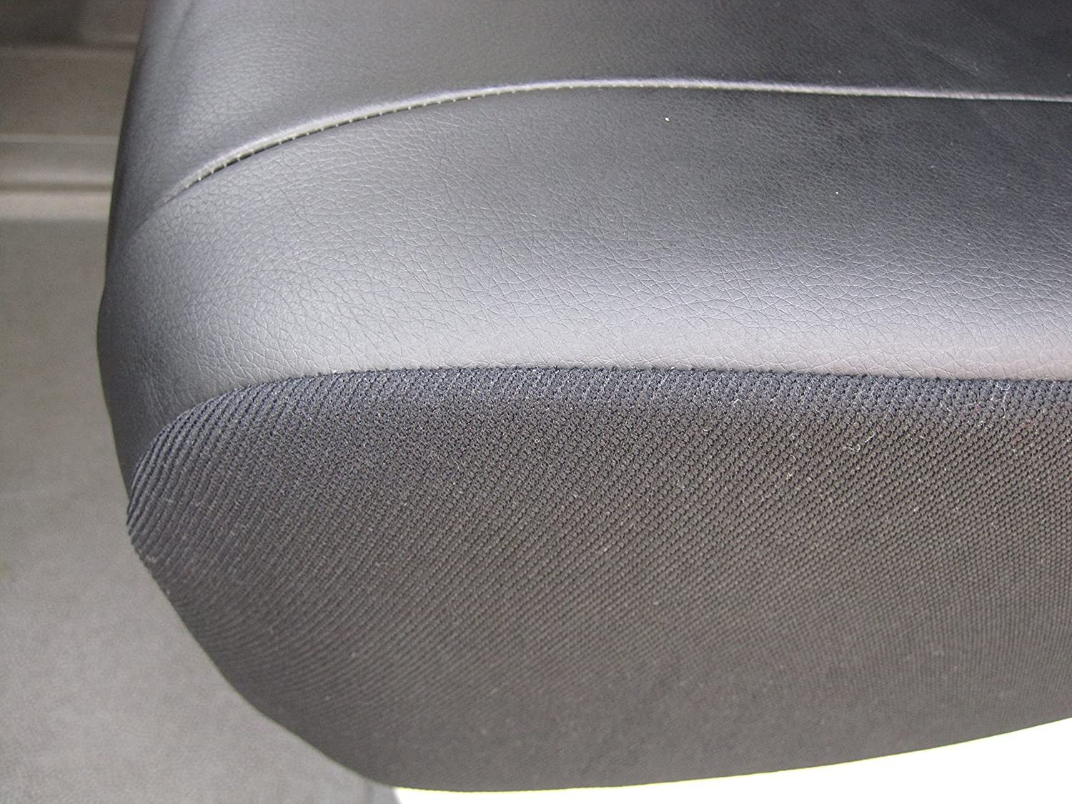 with Fold Down Table DKMOTO DK703B Tailored Van Seat Covers for Ford Transit Custom Leatherette