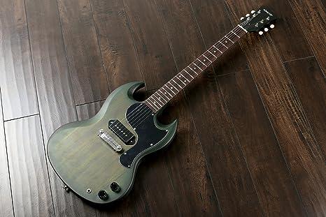Glasgow por Quincy SG guitarra eléctrica estilo Junior