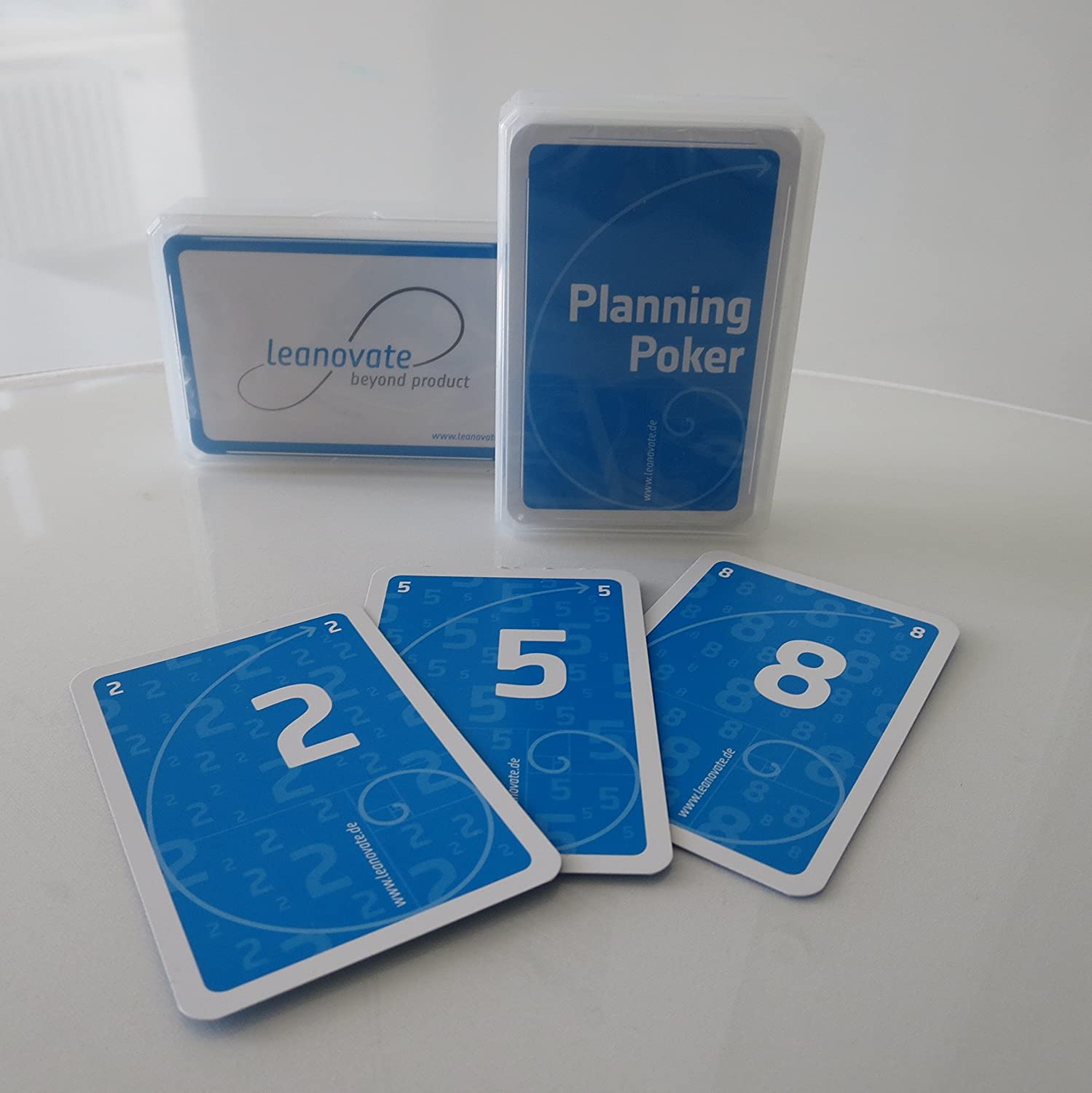 Planning Poker® Set di schede leanovate GmbH