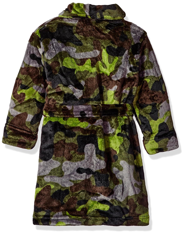Komar Kids Varones Camo Green Velvet Fleece Robe mameluco - Verde - : Amazon.es: Ropa y accesorios