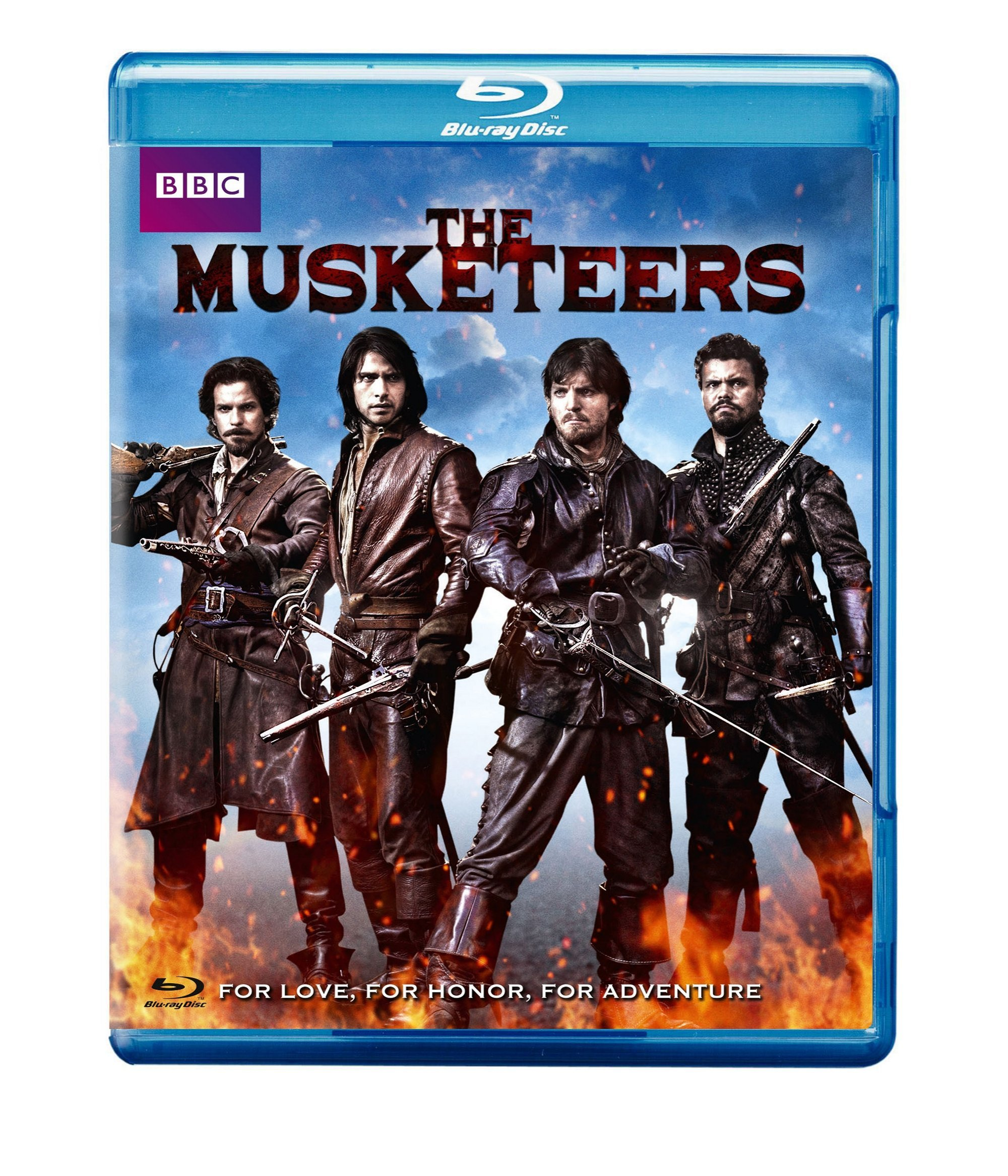 Blu-ray : The Musketeers (3 Pack, 3 Disc)
