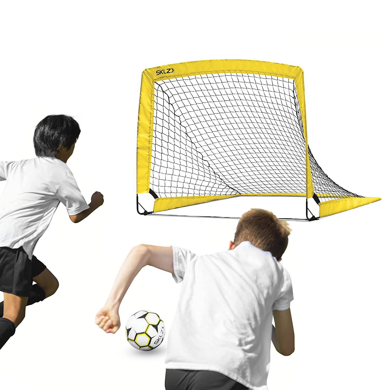Amazon.com   SKLZ Youth Soccer Net Black Yellow ca4b28f75