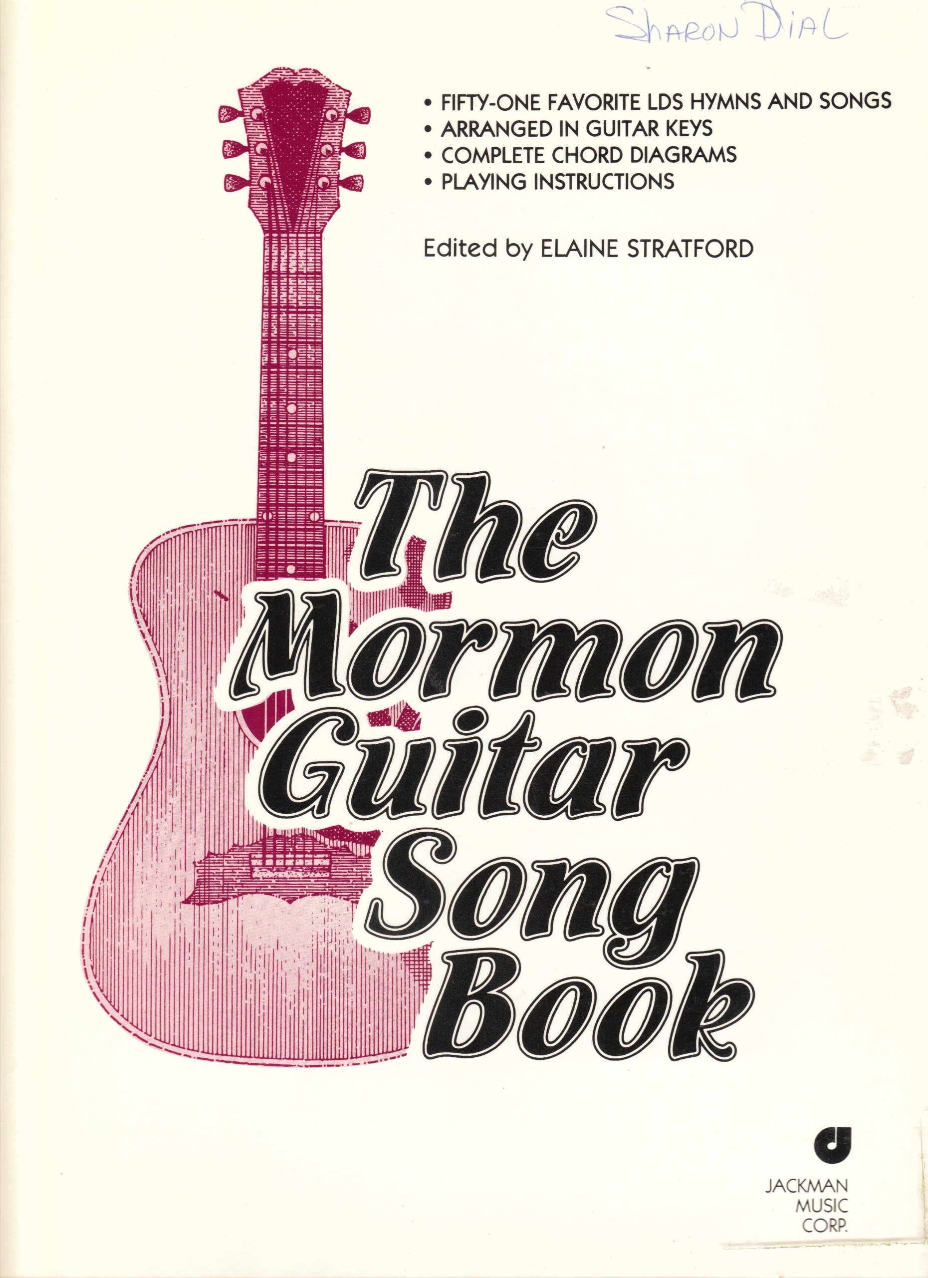 The Mormon Guitar Song Book Elaine Stratford Amazon Books