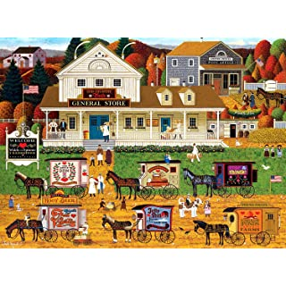 Buffalo Games - Charles Wysocki - Storin' Up - 1000 Piece Jigsaw Puzzle