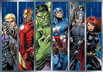 Olimpia Design Papier Peint Photo Phot Omural Marvel Avengers 1
