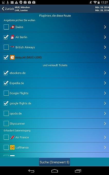 Amazon.com: Flughäfen + Flug-Tracker: Appstore para Android