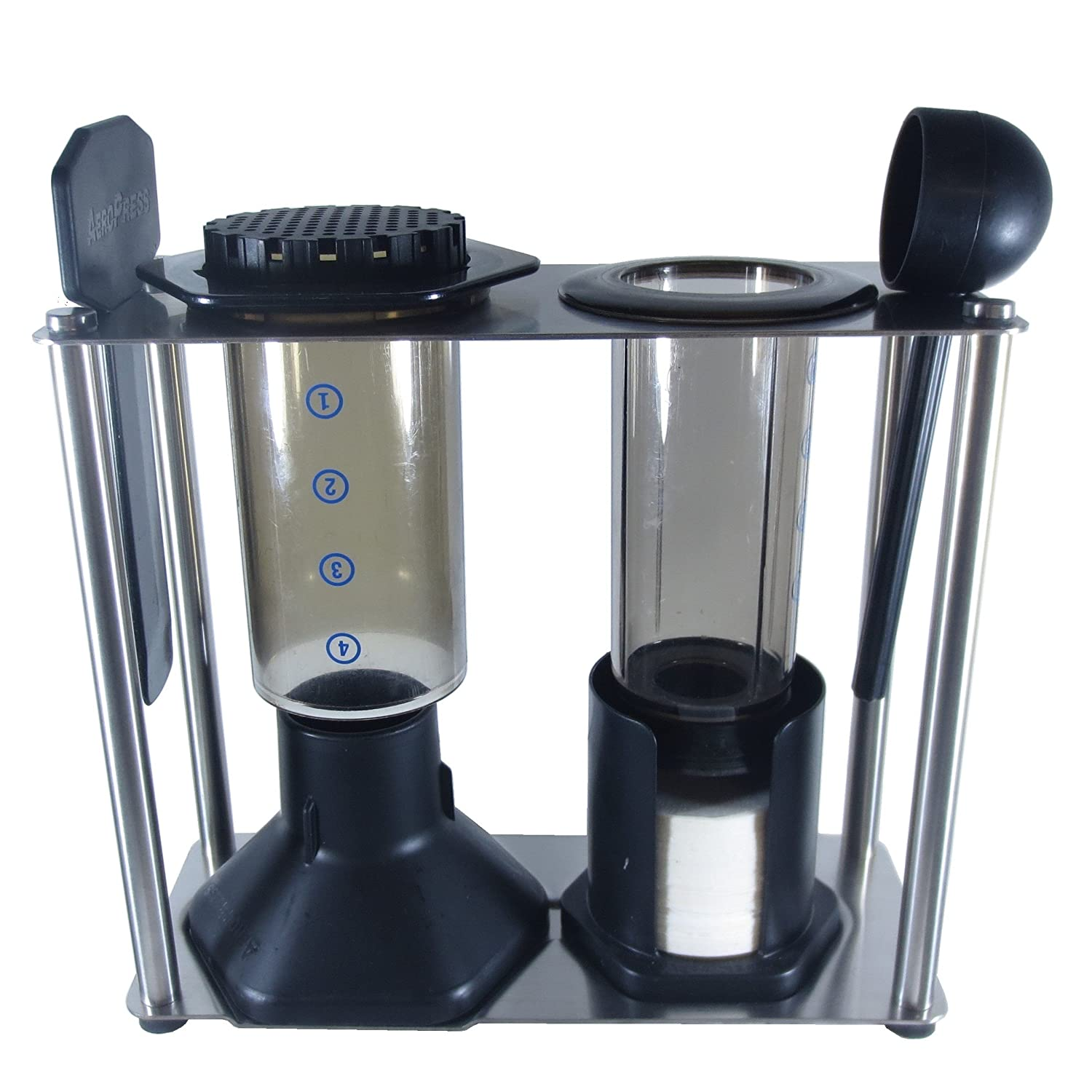 Blue Horse Caddy For Aeropress Coffee Maker Kitchen Fellow Prismo Dining
