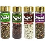 Panjon Swad Mouth Freshner, White Sweet Sauf, Navratan Mix, Calcutta Paan and Royal Fresh Mix (Buy 3 Get 1)