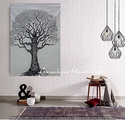 Albero della Vita arazzo fatto a mano, adesivi Home Decor poster ...