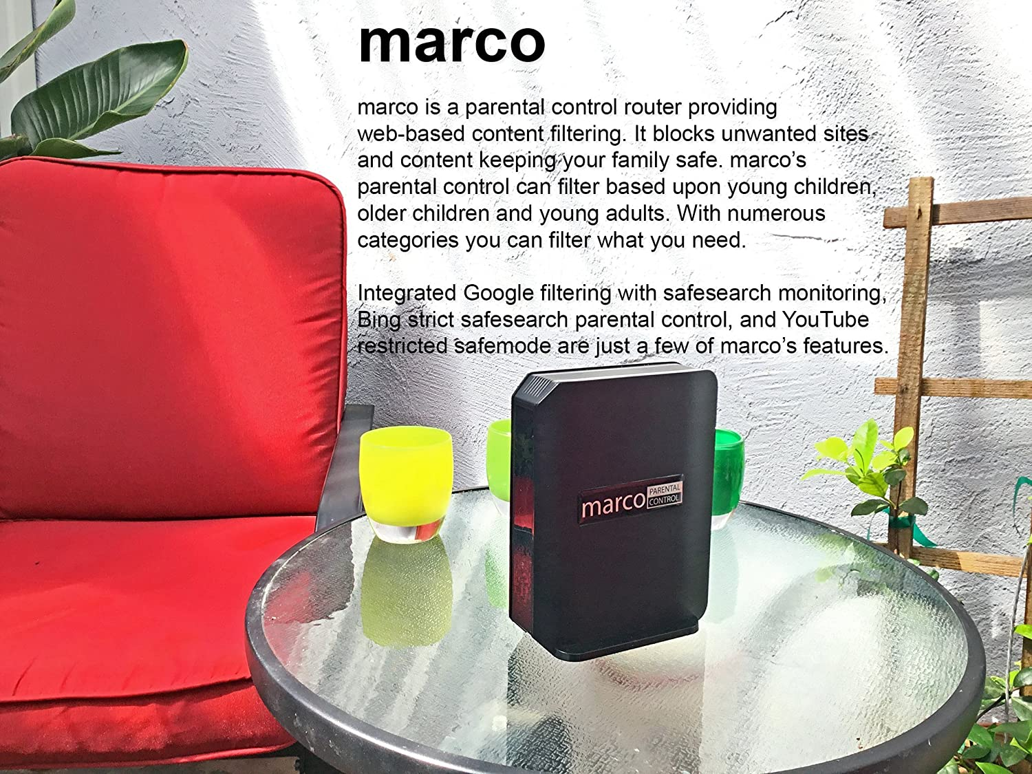 Amazon.com: marco - Kids Safe Internet Router, YouTube Filter ...