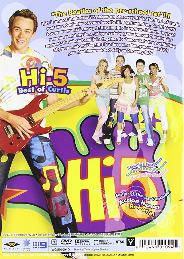 Hi-5: Best of Curtis: Amazon ca: Not applicable: DVD