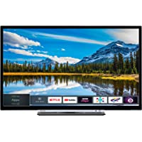 Toshiba 32W3863DB 32-Inch HD Ready Smart TV with Freeview Play - Black/Silver (2018 Model), enabled with Amazon Dash Replenishment