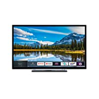 Toshiba 32L3863DBA 32-Inch Smart Full-HD LED TV with Freeview Play - Black/Silver (2018 Model)