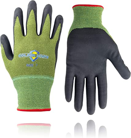High Quality Super touch Polyester//Nylon Hosiery Gloves Extra Large size 1 Pair
