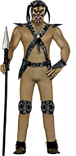 guirca u2013 Costume Adult Space Hunter Size 48 u2013 50 (84315.0)  sc 1 st  Amazon UK & Mens Alien Hunter Predator TV Film Halloween Monster Fancy Dress ...