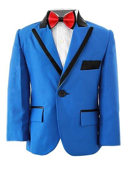 Niños Royal traje azul, Slim Fit, niños traje de boda, graduación, fiesta y bodas de 1 año - 14 años: Amazon.es: Ropa y accesorios