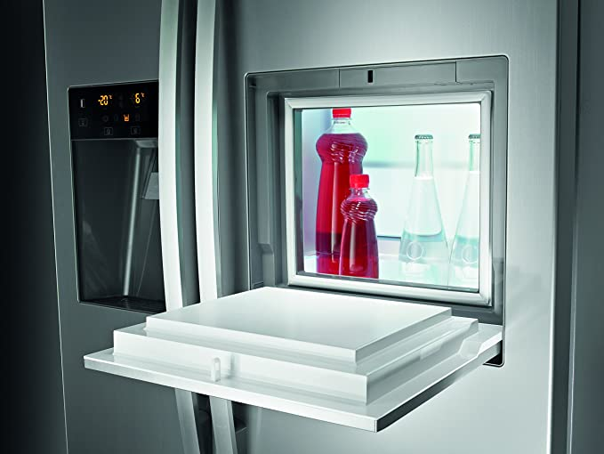 Amerikanischer Kühlschrank Gorenje : Gorenje nrs9181cxb side by side a 184 cm 445 kwh jahr 370