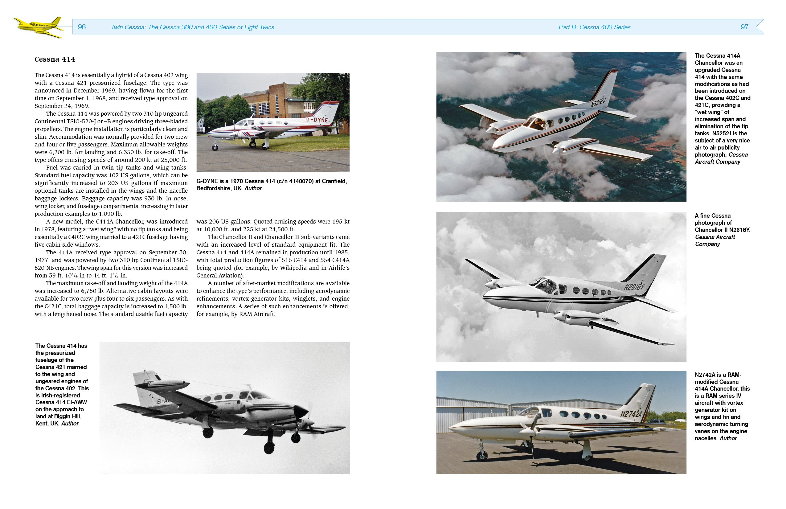 Twin Cessna: The Cessna 300 and 400 Series of Light Twins: Amazon.de: Ron  Smith: Fremdsprachige Bücher