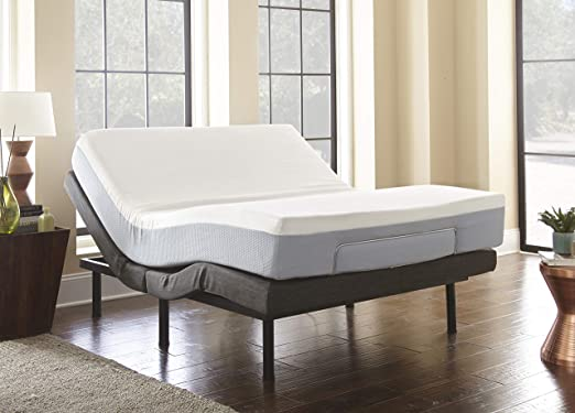 Amazon Com Boyd Sleep Lifestyle Adjustable Bed Frame Mattress Foundation With Tethered Remote Queen Home Kitchen