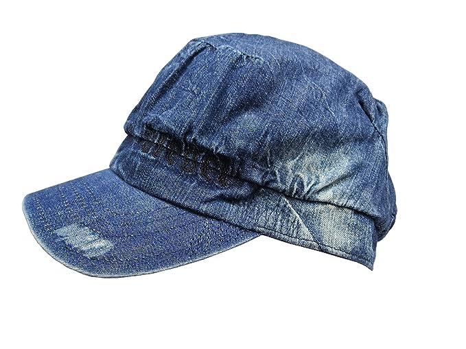 Diesel - Gorra de béisbol - para mujer azul azul vaquero talla única: Amazon.es: Ropa y accesorios