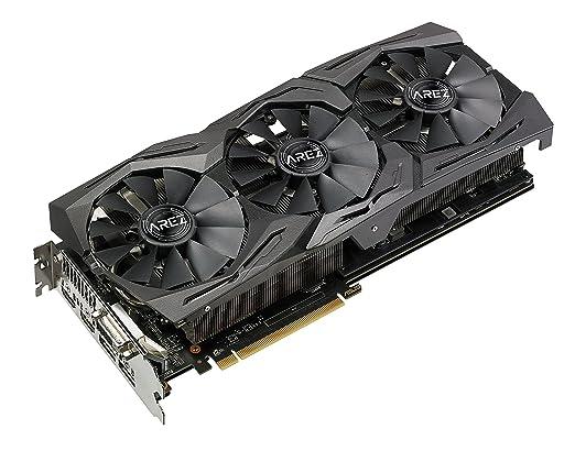 ASUS AREZ-STRIX-RX580-T8G-GAMING Radeon RX 580 8 GB GDDR5 ...
