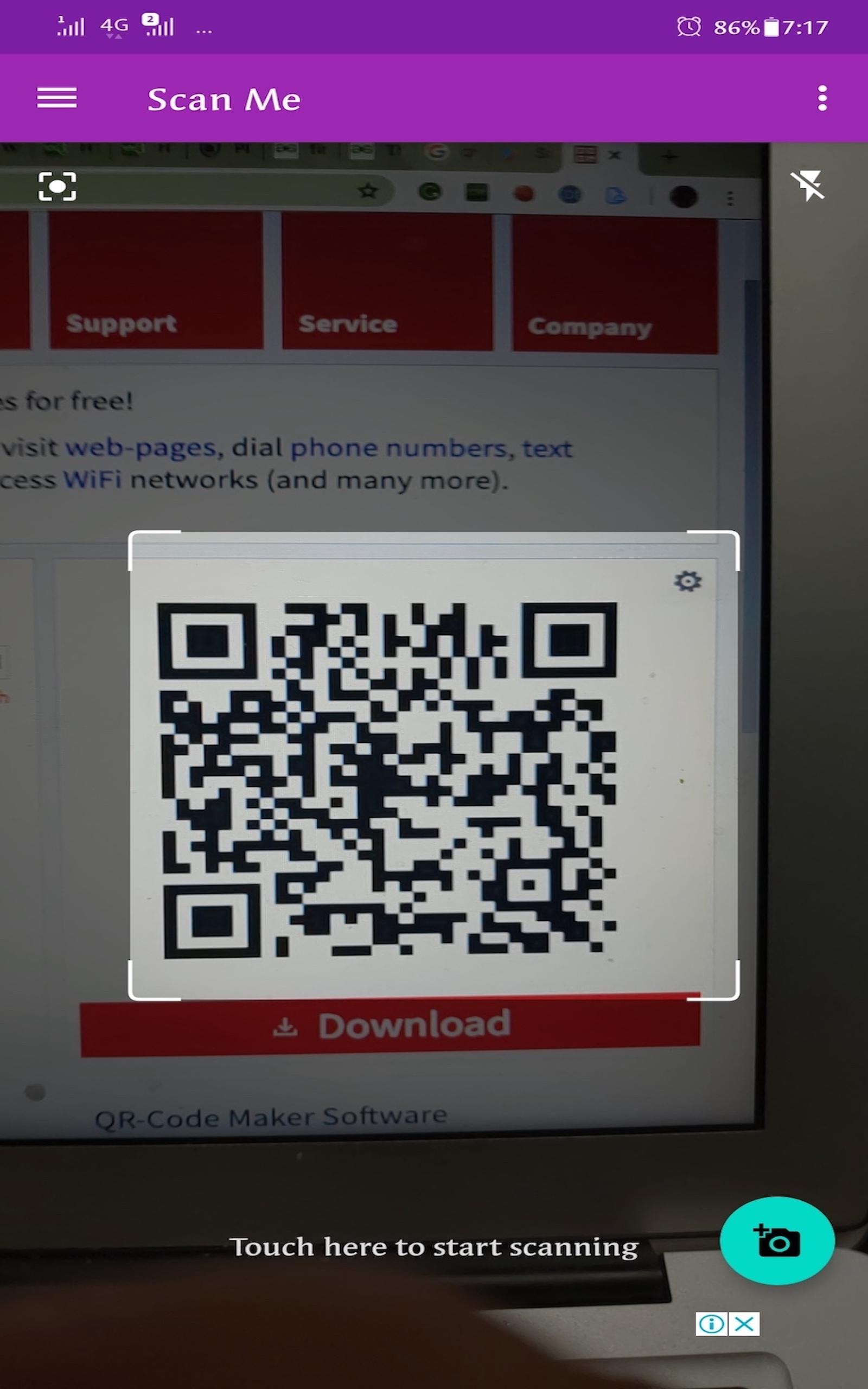 Amazon.com: Scan Me - Barcode QR Code Scanner & Generator
