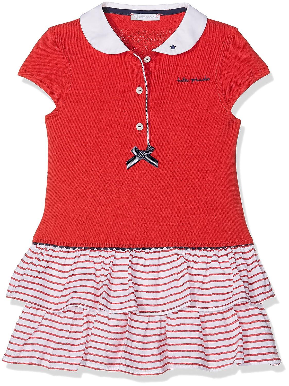 Tutto Piccolo 4414S18 Vestido, Rojo (Red R00), 80 (Tamaño del ...