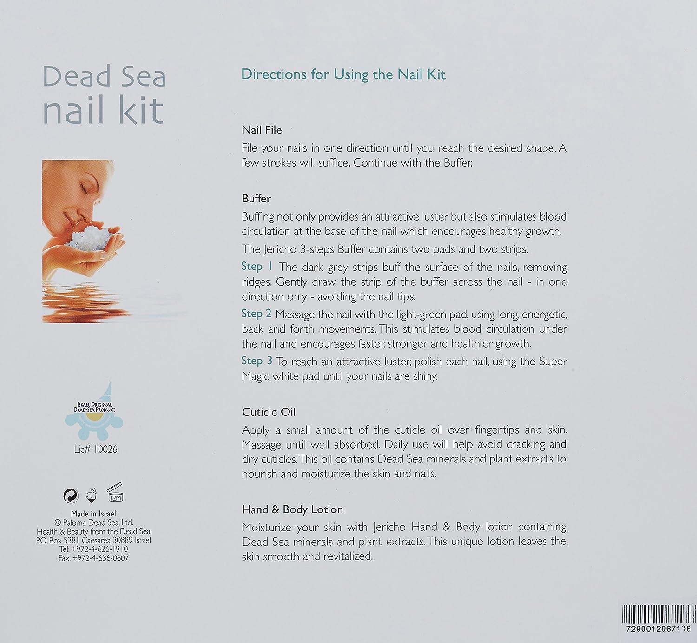 veana Dead Sea Cosmetics Manicure Set Lavender Plus Aromatic Body ...