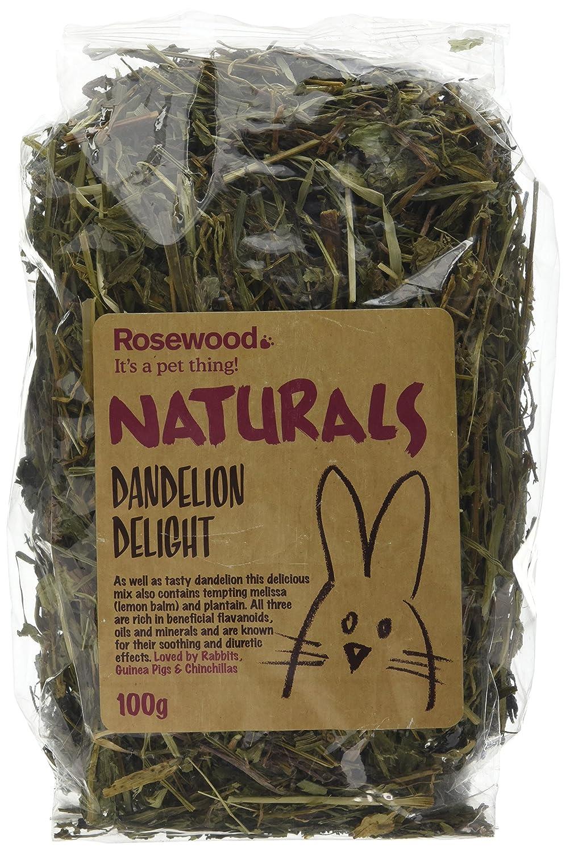 Rosewood Boredom Breaker Natural Treat Dandelion Delight, 100g 19442