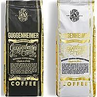 NIEUW | GUGGENHEIMER KOFFIE | Koffiebonen Proefverpakking 1 kg | Supreme 500g & Gourmet Arabica 500g | weinig zuurgraad…