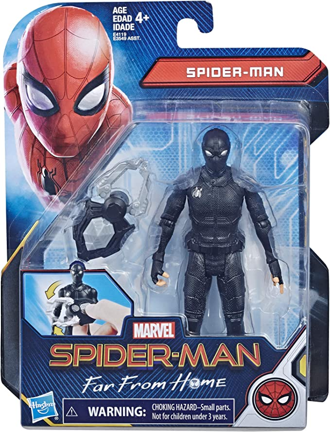 Marvel Legends Far From Home FFH Spider-Man Stealth Suit 6-inch action figure
