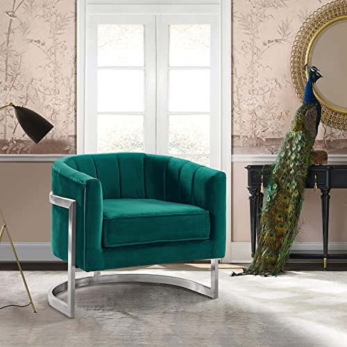 Armen Living Kamila Accent Chair