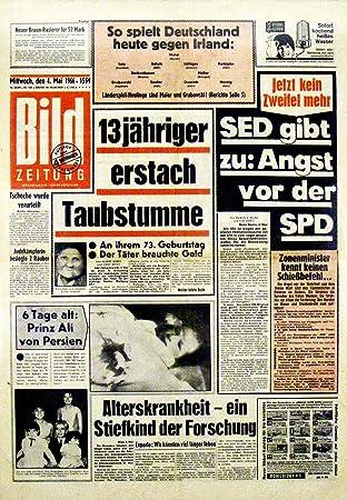 Bildzeitung News