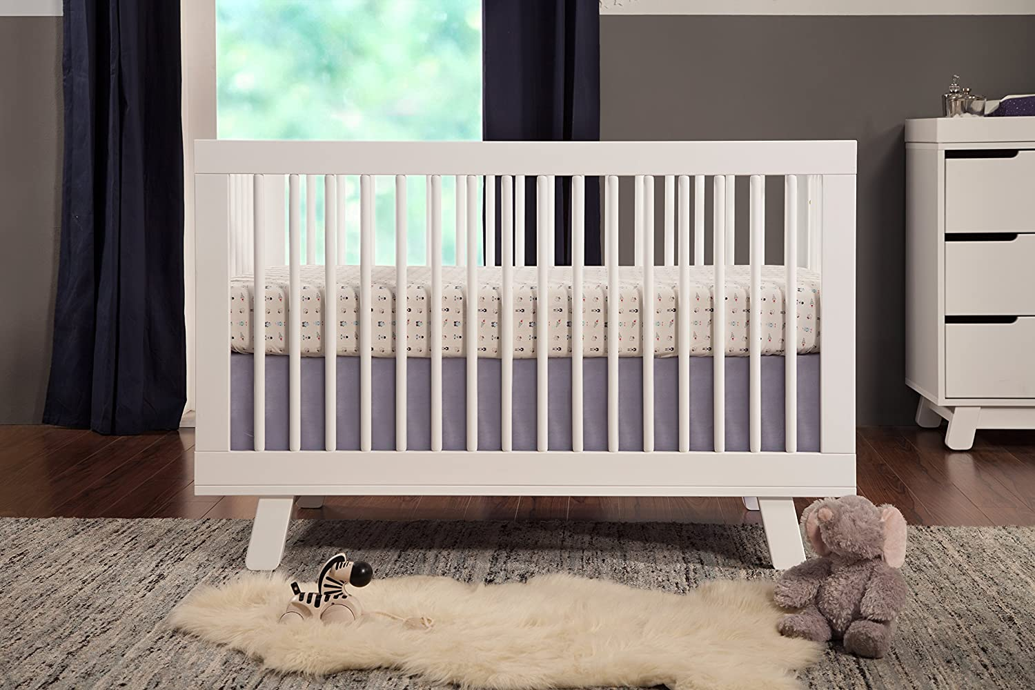 Amazon Babyletto Hudson 3 Drawer Changer Dresser With Removable Changing Tray White Nursery Dressers Baby