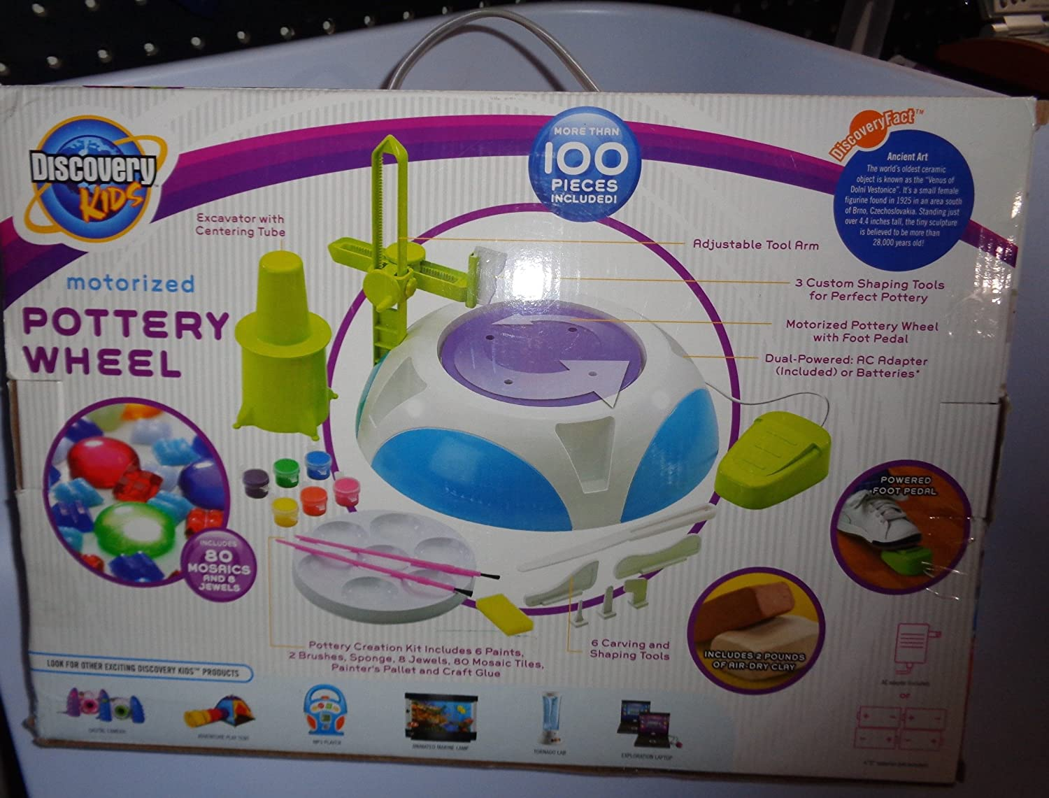 How to make clay toys use various shaping tools to - Amazon Com Discovery Kids Motorized Pottery Wheel With Clay Toys Games