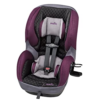 Evenflo SureRide 65 DLX Convertible Car Seat Sugar Plum Grey