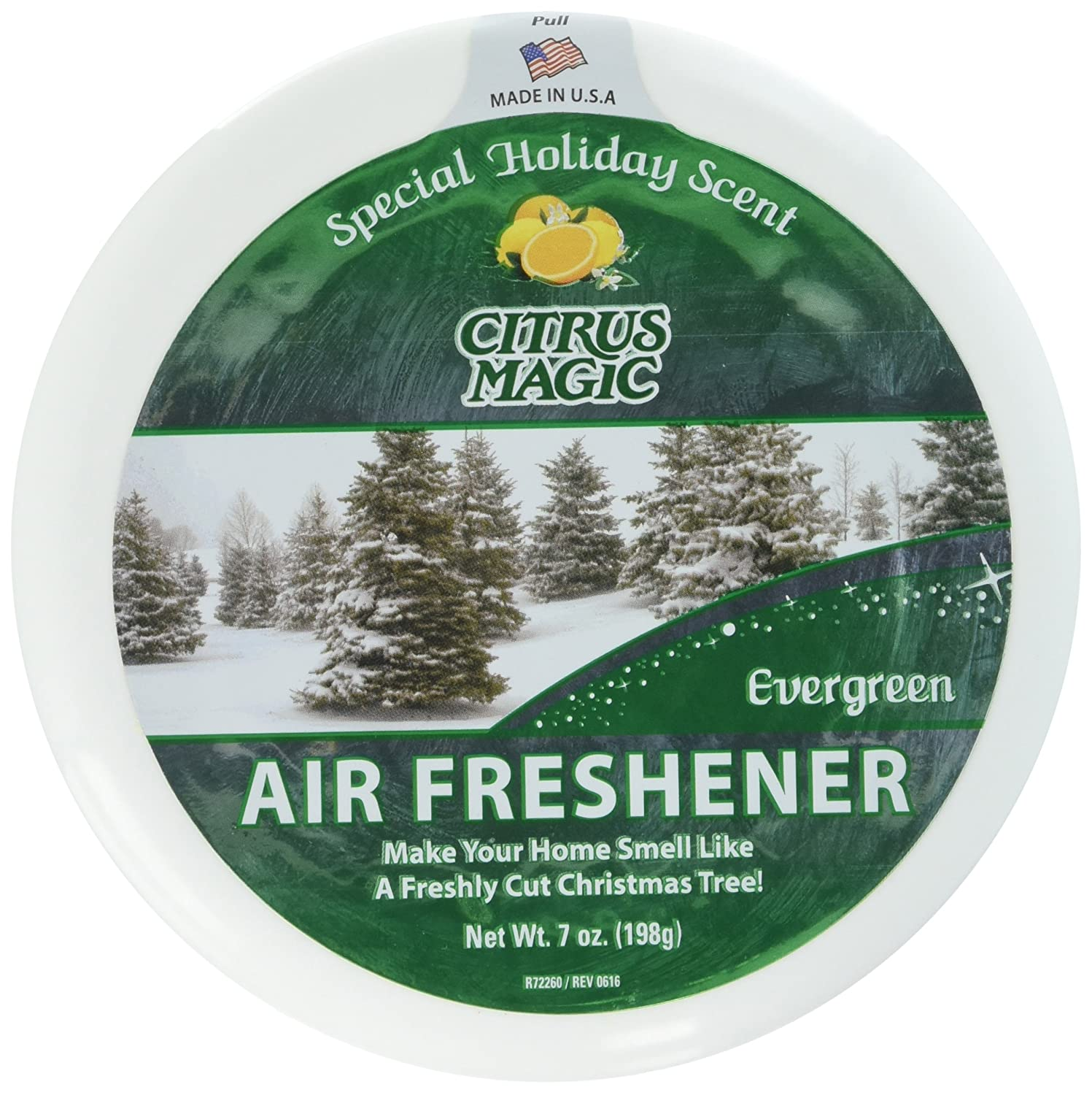 Amazon Citrus Magic Holiday Edition Odor Absorbing Solid Air