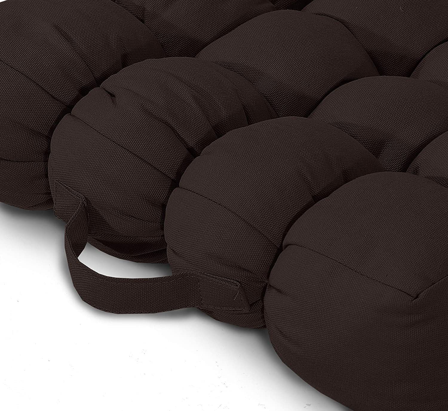 Postoperative and Pregnancy Black, 1 10 cm Thick Square Seat Pads Soft Touch HollowFibre Filling Cushion For The Elderly E4Emporium Luxurious Supportive Armchair Booster Cushion
