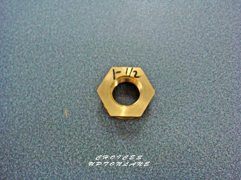1 X 3//4 de reducci/ón de macho a hembra varios tama/ños Lat/ón Rosca hexagonal de lat/ón