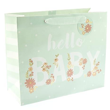Amazon.com: graphique Hello Baby Bolsa de regalo grande ...