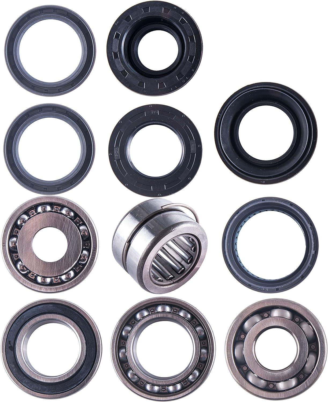 Rear Wheel Bearing /& Seal Kit 1998-2004 Honda Foreman 450 4x4 ATV