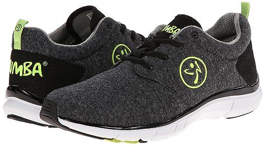 Zumba Footwear Zumba Fly Print, Zapatillas de Gimnasia para Mujer, Negro (Black), 35.5 EU: Amazon.es: Zapatos y complementos