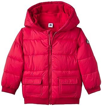721bac296 Amazon.com  Petit Bateau Baby Boys  Puffy Hooded Coat