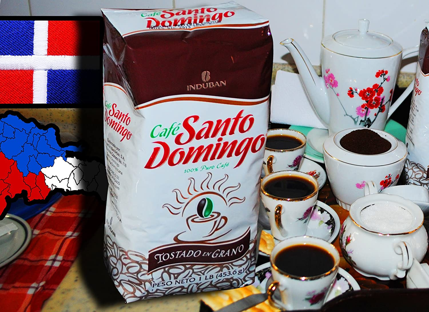 Cafe Molido Santo Domingo Coffee 1 Lb. Bags 3-pack 3 Lbs. Total