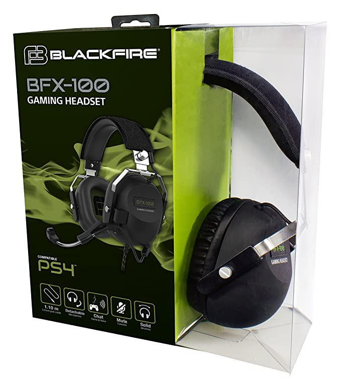 Ardistel - Blackfire BFX-100 Gaming Headset (PS4): Amazon.es: Videojuegos