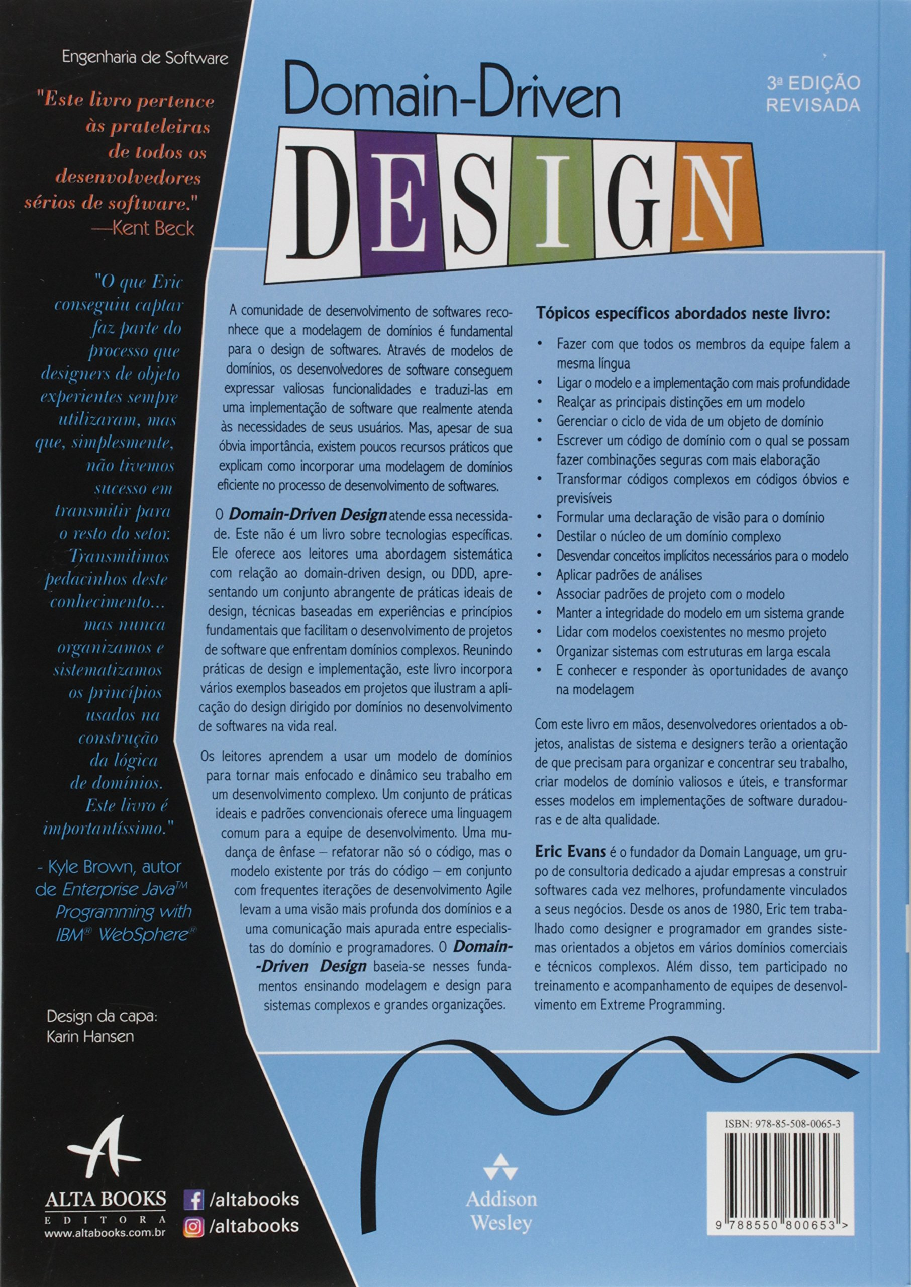 Domain Driven Design  Eric Evans, Julio Couto Novais Tiberio   Amazon.com.br  Livros 43f7ff0aa0