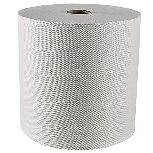 Scott Essential (formerly Kleenex) Hard Roll Paper Towels (01080) with Premium Absorbency Pockets, White, 12 Rolls / Case, 5,100 feet - Same Kleenex quality, now Scott branded