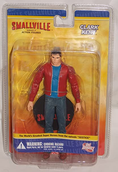 Clark Kent SG/_B000WFQN3G/_US DC Direct Smallville Series 2 Action Figure Superman